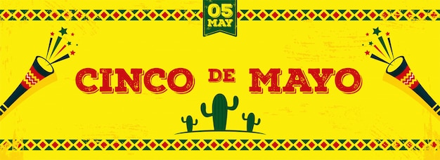Cinco de mayo background.