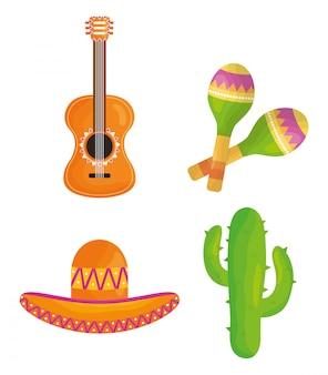 Празднование синко де майо иконки