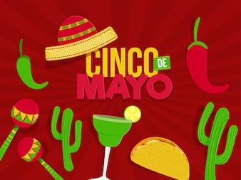 Празднование фестиваля Синко де Майо
