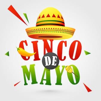 Cinco de mayo of hat