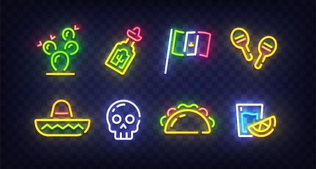 Cinco de mayo neon sing
