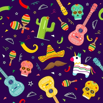 Cinco de mayo pattern