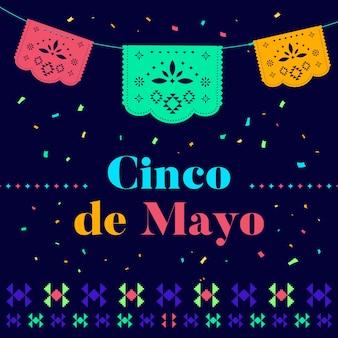 Cinco de mayo with bunting