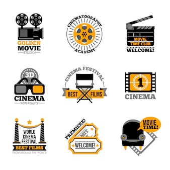 Кино и кино этикетки