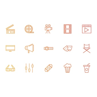 Cinema and media icons