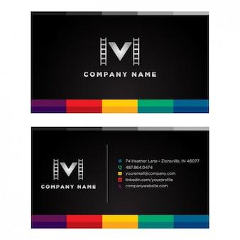 Cinema business card