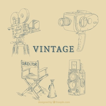 Cinema equipment, vintage