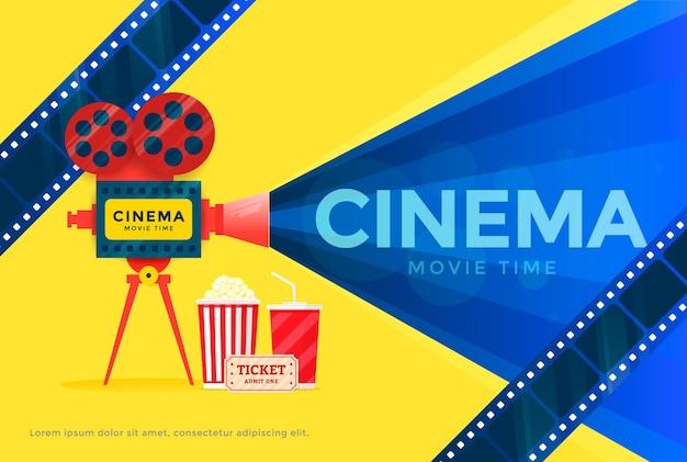 Cinema festival banner