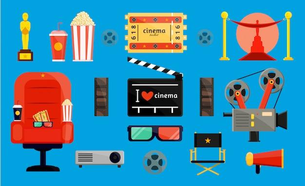 Cinema film set