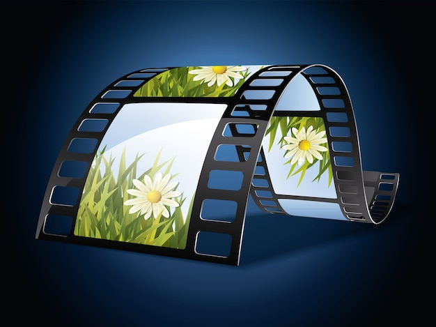 Cinema frame background