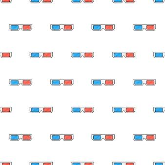 영화 안경 완벽 한 패턴