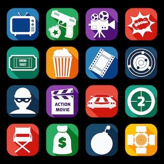 Raccolta icone del cinema