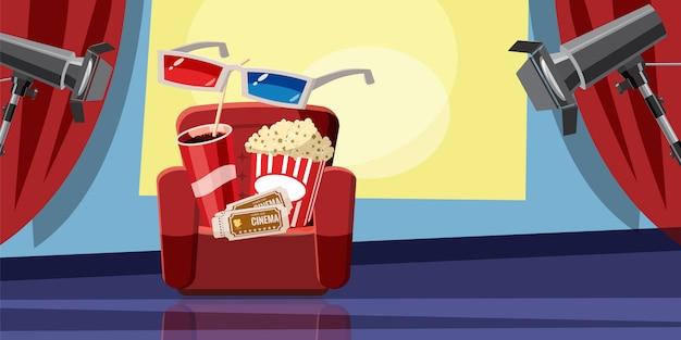 Cinema movie background