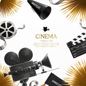 Cinema production background