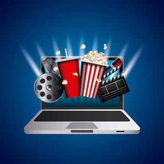 Cinema related icons