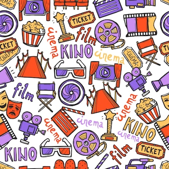 Cinema Seamless Pattern