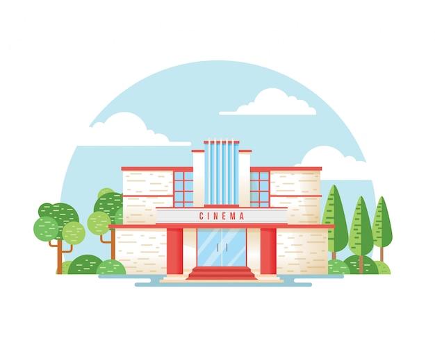 Cinema, theater building