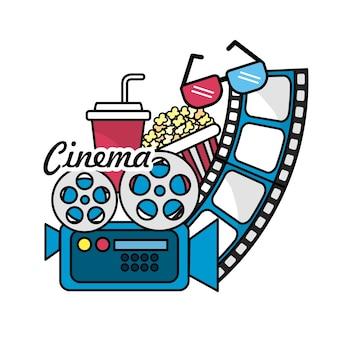 Кинематография с инструментами для коротких кинопленок