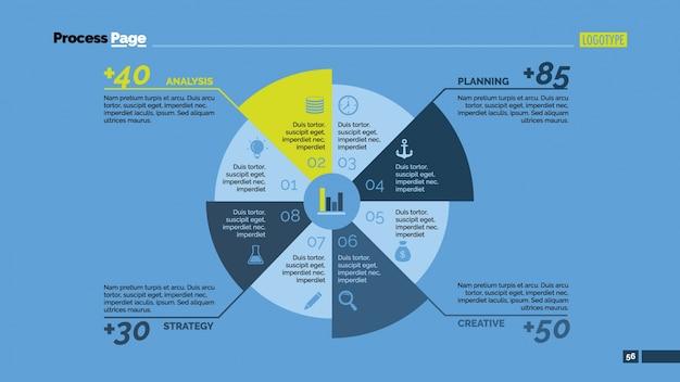 Круг и статистика infografic