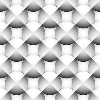 円の幾何学的なシームレスなベクトルの背景