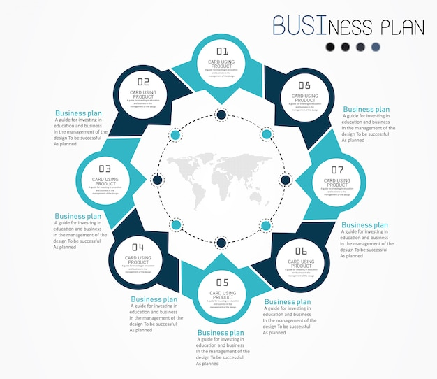 Circle label infographic design vector illustration