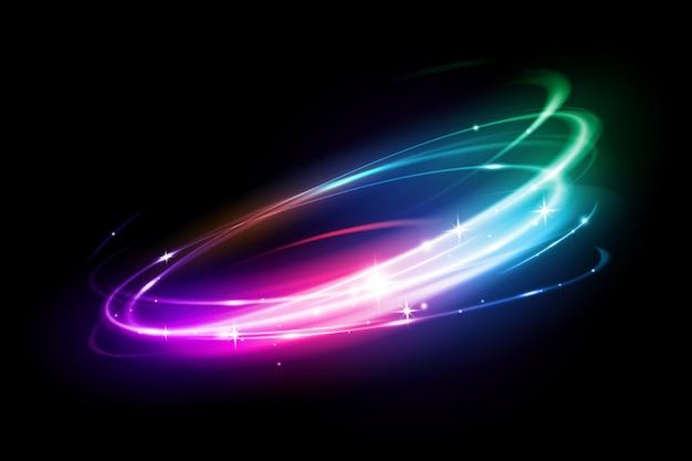 Круг световой эффект