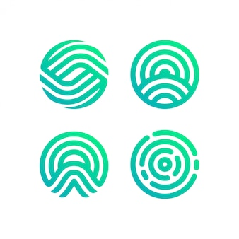 Circle logo collection