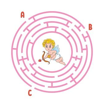 Circle maze.
