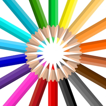색연필의 원