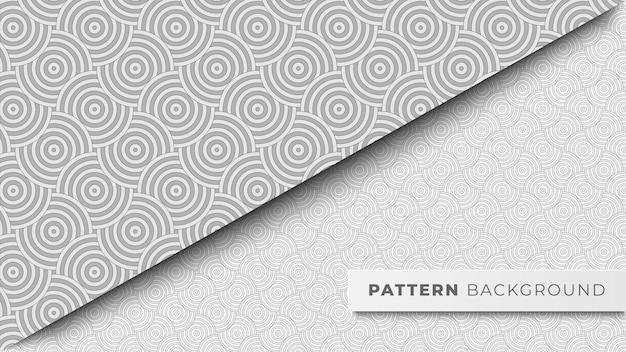 원형 패턴 배경 디자인