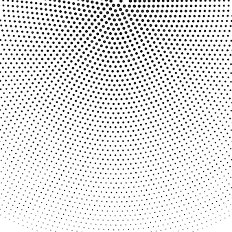 Circle round halftone background