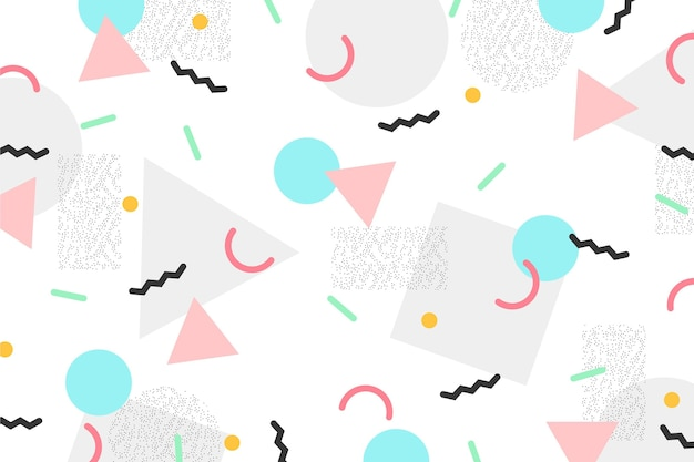 Круги и треугольники мемфис фон