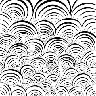 Фон с кругами