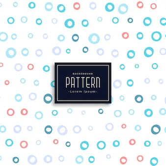 Circles soft pattern design background