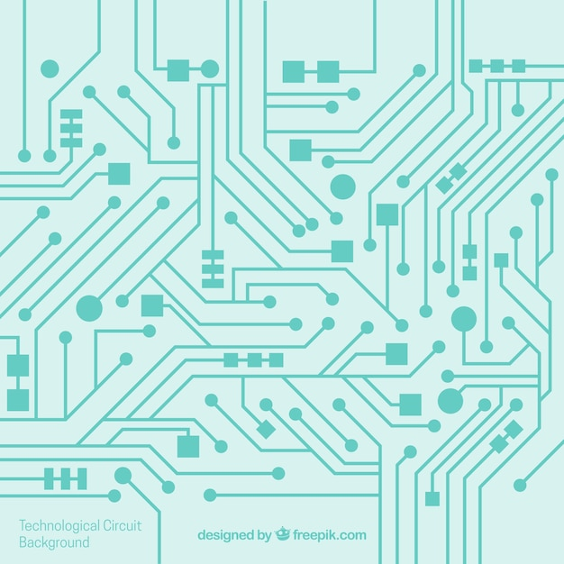 electronic circuit vectors, photos and psd files free downloadcircuit background in flat design