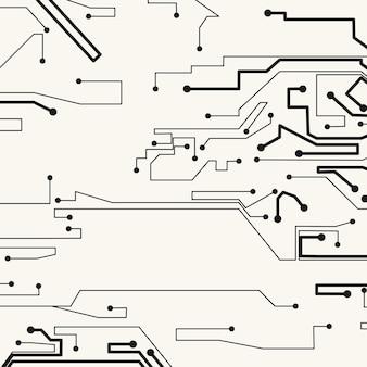 回路基板の背景、技術イラスト