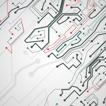 Circuit board background, technology illustration.