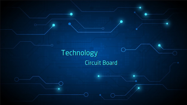 Circuit technology background with hi-tech digital data connection system and computer electronic desing