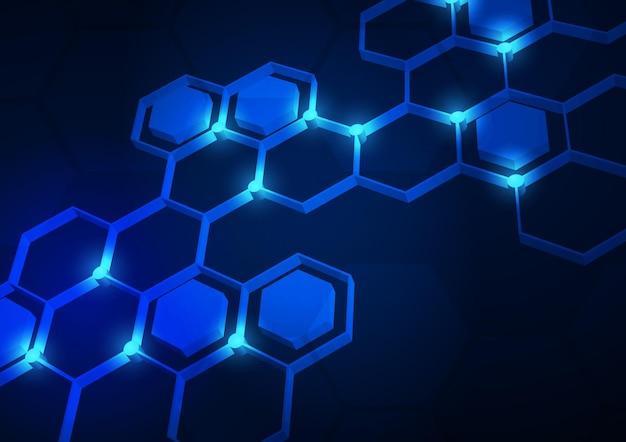 첨단 디지털 데이터 연결을 사용하는 회로 기술 배경