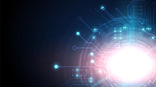 ハイテクデジタルと回路技術の背景