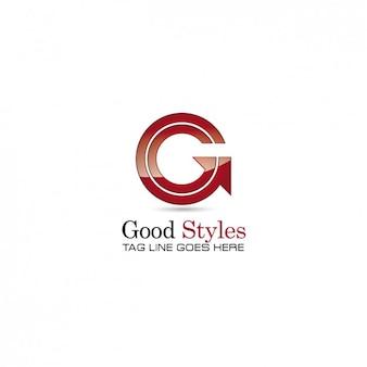 Circular arrow logo template