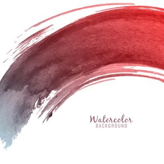 Circular brush stroke watercolor background