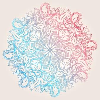 円形カラーパターン