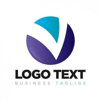 Круговая корпоративный логотип