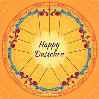 Circular dussehra background
