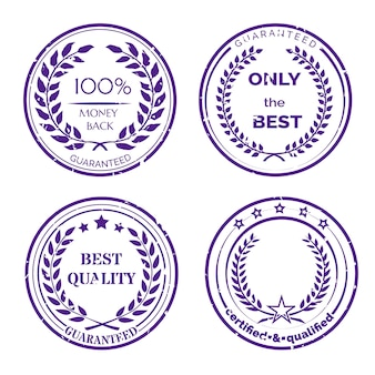Circular guarantee label set