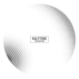 Circular halftone background