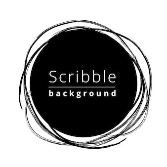 Circular scribble background