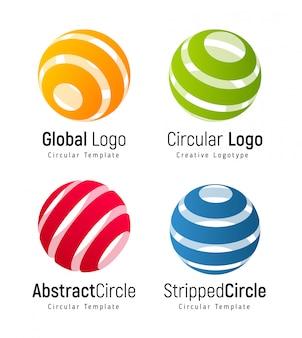 Circular simple logotype