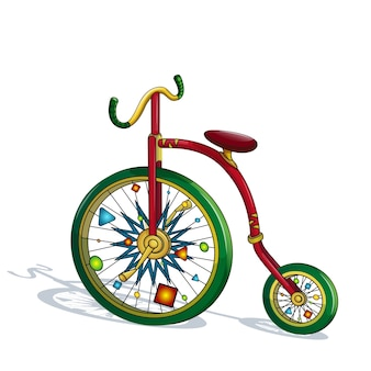 Circus bicycles